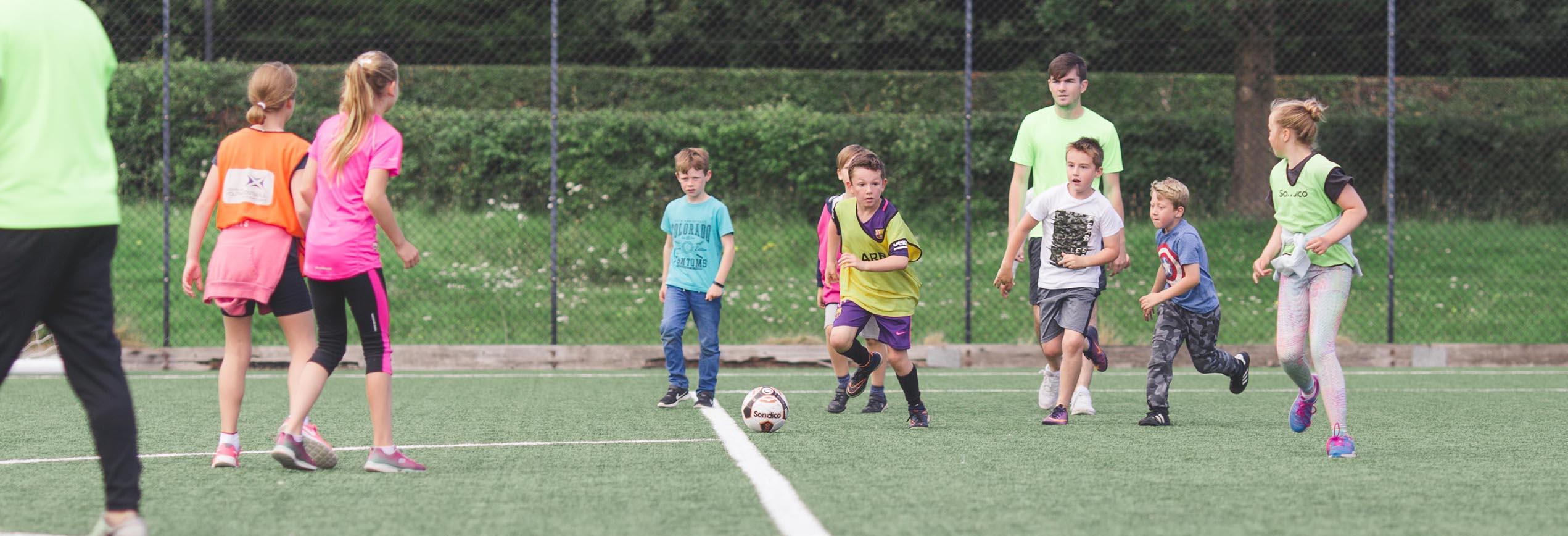 vision coaching sports camp Ayrshire